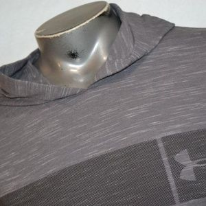 9591 Mens Under Armour Gym Shirt Hoodie Workout